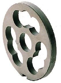 Wolfscheibe R 70/ 0 mm, Werkzeugstahl, Vorschneider, doppelt, mit Nase