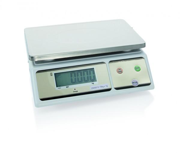 Digitalwaage bis 15 kg / Unterteilung 1 gr