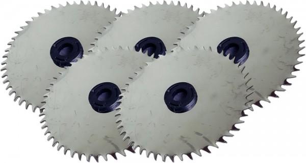 3x Ersatzsägeblätter aus Edelstahl für elektrische Akku-Rippensäge RS2, RS3 und RS 3 PRO