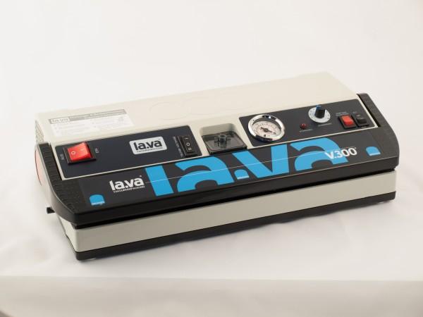 Lava Vakuumtischgerät V.300 Premium + XXL Paket Beutel + Rollen + Auslösemesser