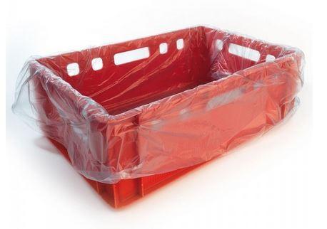 Beutelfolien für Fleischkästen Euro-Norm E1/2/3, rot, 60 x 40 cm