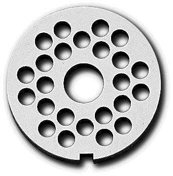 Wolf-Scheibe R 70/ 6 mm mit Buchse und zwei Ausnehmungen