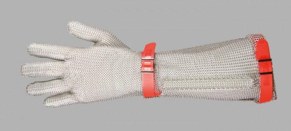 Niroflex Stechschutzhandschuh orange / Gr.5 / XL mit 19 cm langer Stulpe